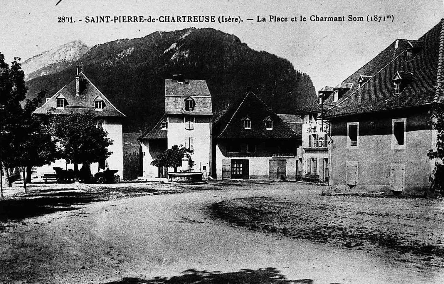 Un caf patrimoine st pierre de chartreuse les amis du parc de chartreuse - Office du tourisme saint pierre de chartreuse ...